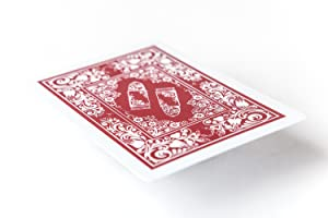 Bullets Playing Cards two decks of waterproof designer poker cards in deluxe 100% plastic with jumbo index – professional premium playing cards for ...