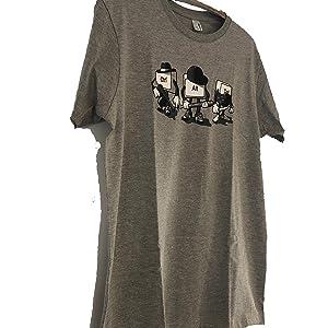 b7d820c00 Camiseta Computer Mafia - Humor - Color Gris Mezcla - 100% Algodón ...