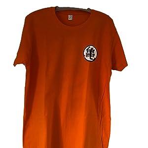 Camiseta Kame Kanji - Anime - Manga - Color Naranja - 100 ...