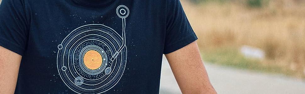 Pampling Cosmic Symphony - Música - Vinilo, Camiseta Hombre: Amazon.es: Ropa y accesorios