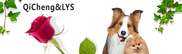 QiCheng & LYS Ropa para Perros Traje Elegante con Estilo de ...