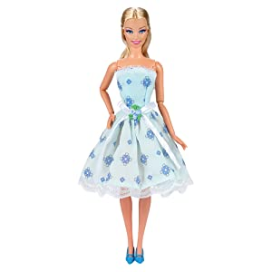 Todos nuestros vestidos/ropa son únicos y hechos a mano,diseño elegante y fácil de usar, coincide con las tendencias actuales y estilo de la muñeca.