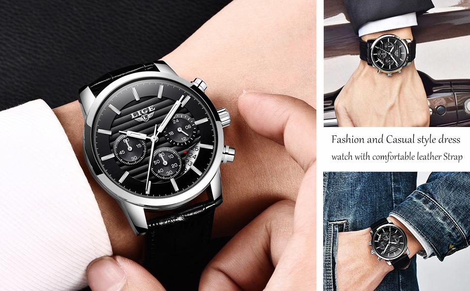 •El reloj está diseñado para hombres.