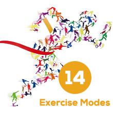 fitness tracker 14 Modos de Ejercicio