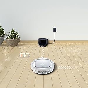 EUREKA i300 Robot Aspirador con Alta Succión, Suelos Duros y ...