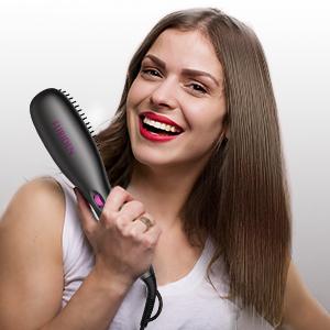 El cepillo alisador para el pelo de FURIDEN es tu mejor opción.