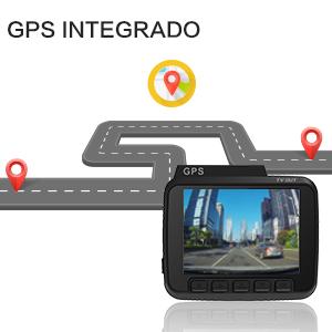El dashcam puede grabar datos precisos de GPS en los archivos de vídeo y ofrecer una manera muy conveniente de determinar la ubicación, ruta y velocidad en ...