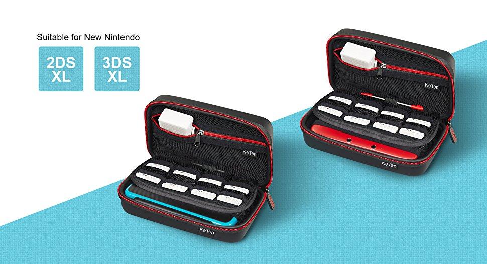 Funda para Nintendo New 2DS XL / New 3DS XL Funda Protectora de plástico Hard Shell Cover Set de Accesorios para Nintendo New 2DS XL / New 3DS XL / 3DS XL /