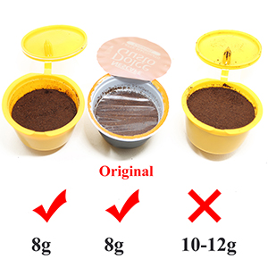 FineInno Cafetera Capsulas Recargables Refillable Coffee Capsules ...