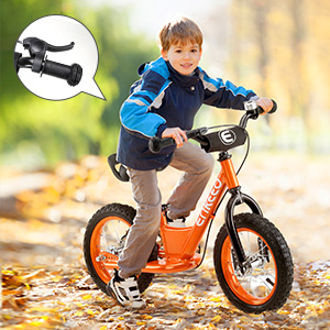 ENKEEO - 12 Bicicleta sin Pedales, Bicicleta de Equilibrio ...
