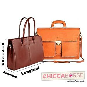 Las medidas de las bolsas se han efectuado en cada dimensión, teniendo en cuenta las partes más largas de las bolsas.