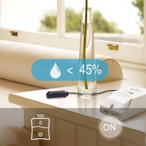 Puede permitir que la alarma del sensor active otros dispositivos para que se enciendan o apaguen. O permita que los dispositivos que han aprendido con ...