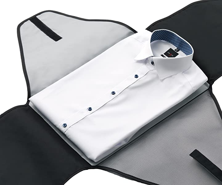 Alpamayo® Bolsa para camisas, Maleta para camisas sin arrugas en ...
