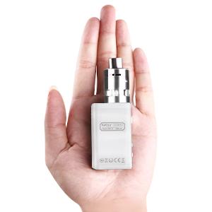 1 * 10 ml de líquido e sin nicotina 1 * Sub ohm tanque 1 * caja de batería mod 2 * Punta de goteo (una punta de goteo de silicona de 14 mm y ...