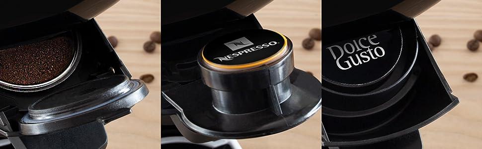 cafe molido capsulas nespresso dolce gusto