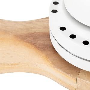 IKOHS - Ventilador de Techo con Mando a Distancia, 3 Aspas de ...