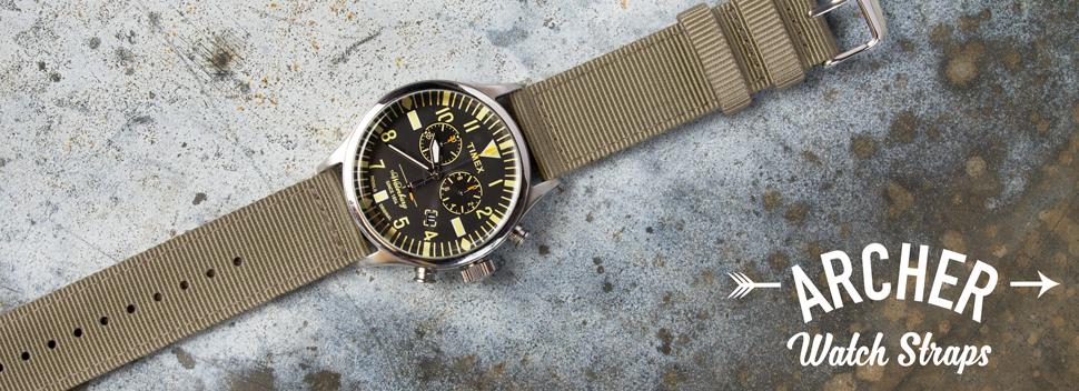 Archer Watch Straps | Repuesto de Correa Reloj de Nailon