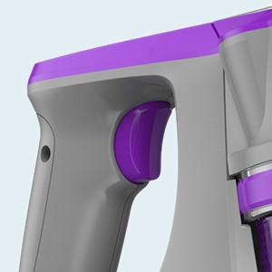 Housmile Aspirador sin Cable 7500Pa,Aspirador Escoba 2 en 1 con 2 Modos de Limpieza,Depósito 0.6L-Gris y Violeta: Amazon.es: Hogar