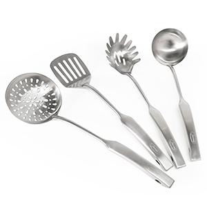 Newness Utensilio de cocina de 304 acero inoxidable, 4 Piezas ...