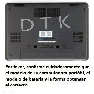 Dtk® Batería de Repuesto para Portátil for DELL E5440 E5540 P/N: N5YH9 VV0NF VVONF VJXMC 0M7T5F 0K8HC 1N9C0 7W6K0 F49WX NVWGM CXF66 WGCW6 [11.1V ...