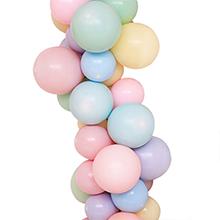 PartyWoo Globos Pastel, 100 Piezas de 10 Pulgadas Globo Pastel 8 Colores Globos Color Pastel Globos Colores Pasteles Globos Látex para Pastel Bautizo, ...