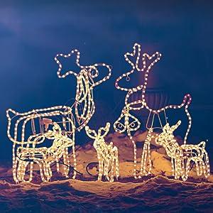 8b51faa7aeb Guirnaldas Luces Navidad  Pack de 2  con Mando TaoTronics Guirnaldas ...