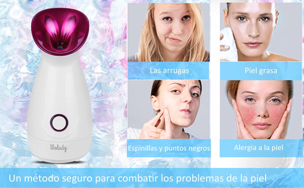 Cuidado de la piel sin composiciones químicas