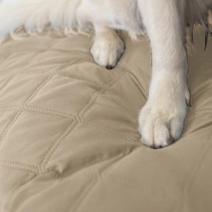 KINLO Funda de Sofá,Funda de Sofá Cubre Sofá 1 Plaza para Mascotas,Anti-rascado,Anti-incrustante,Fundas de Sofa Algodón Protector de Sofá o Sillón
