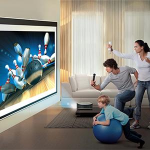 Proyector crenova, multimediales cine en casa, dispositivo ...