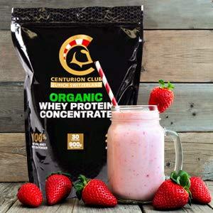 Batido de proteína de Fresa y Plátano