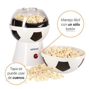 Máquina de palomitas celexon SoccerPop SP10 - Información breve: