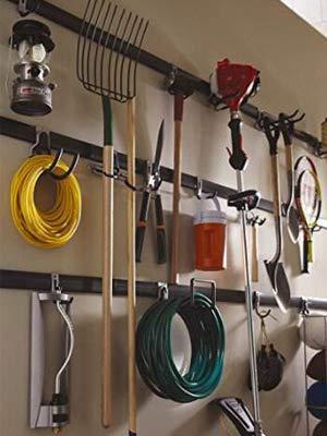 Colgadores de Bicicletas pared Soportes para Colgar Bicicletas Ganchos Escalera Ferretería, Heavy Pesado Colgadores para Garaje con Montaje en Pared Soporte para Escalera Storage (2 Pieze - Negro): Amazon.es: Bricolaje y herramientas