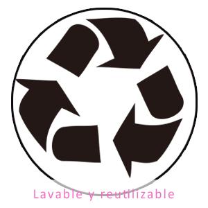 Lavabile e riutilizzabile