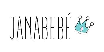 JANABEBE Saco Universal para Cochecito (BLACK RAYO, ALGODÓN)