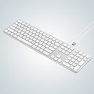 SATECHI Teclado con Cable USB de Aluminio con Keypad Numérico, Compatible con iMac: Amazon.es: Electrónica