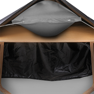 Tvird Funda para Muebles Impermeable, 420D Tela Oxford Cubierta ...
