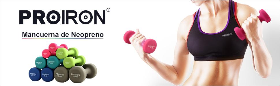 ·PROIRON El manillar de neopreno es adecuado para todas las edades y niveles de condición física por tono y forma, ejercicio cardio o entrenamiento.