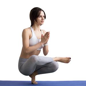PROIRON Colchonetas de Yoga Antideslizante Espesa para Pilates, Gimnasio Fitness or en Casa con Tirante -180cm x 61cm x 15mm