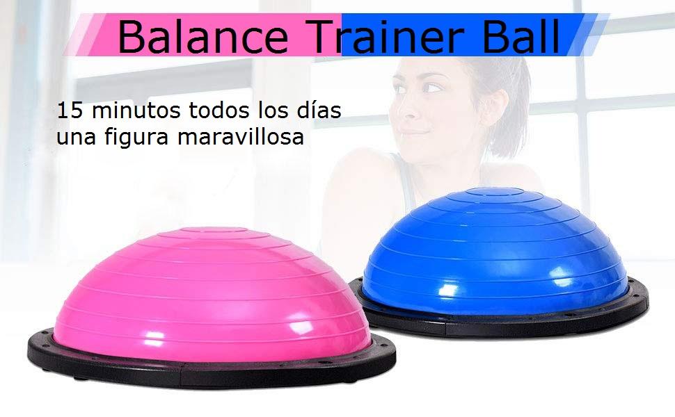 COSTWAY Equilibrio Balance Semiesfera Trainer Pelota de Gimnasia ...