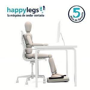 Happylegs Premium- La Máquina de Andar Sentado con Mando ...