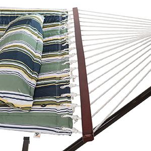 VITA5 Hamaca Soporte. Dimensiones: 190 x 140. Caben hasta 2 Personas/ 200 Kg. Dispone de una Almohada extraíble. Resistente a la Intemperie y los ...