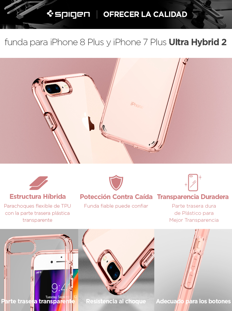 carcasa spigen iphone 8 plus