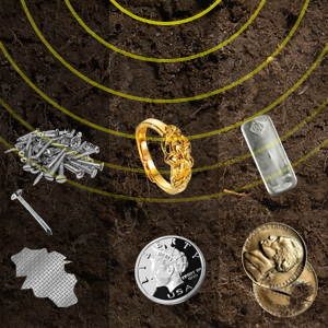 Detecta todo tipo de metales - 3 tonos de audio.
