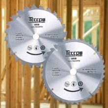 Sierra Circular, TECCPO 1500W 5800 RPM Sierras Circulares, Guía Láser, 2 Hojas Ø185mm, Profundidad de Corte 63mm (90°), 45mm (45°), Motor de Cobre ...