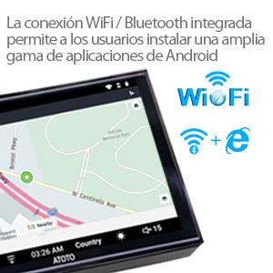 El SoC Chip interno MTK8127A de la serie AOTOTO A6 cumple con el estándar de Android GMS / CTS, por lo que los compradores pueden actualizar el Google Play ...