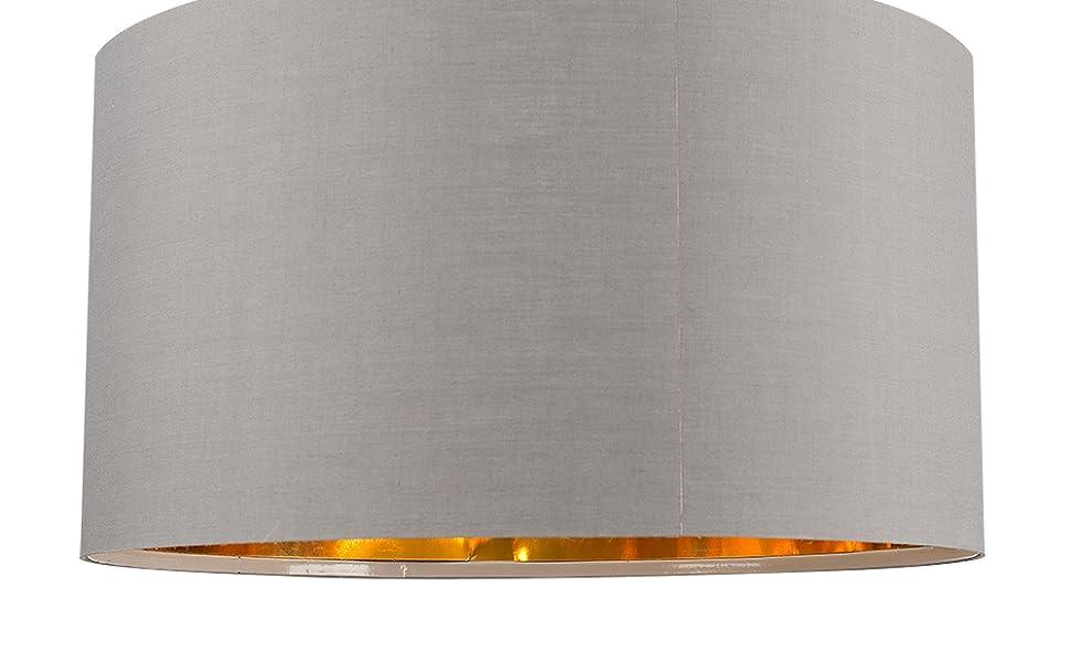 MiniSun - Pantalla para lámpara de techo/lámpara de mesa, moderna ...