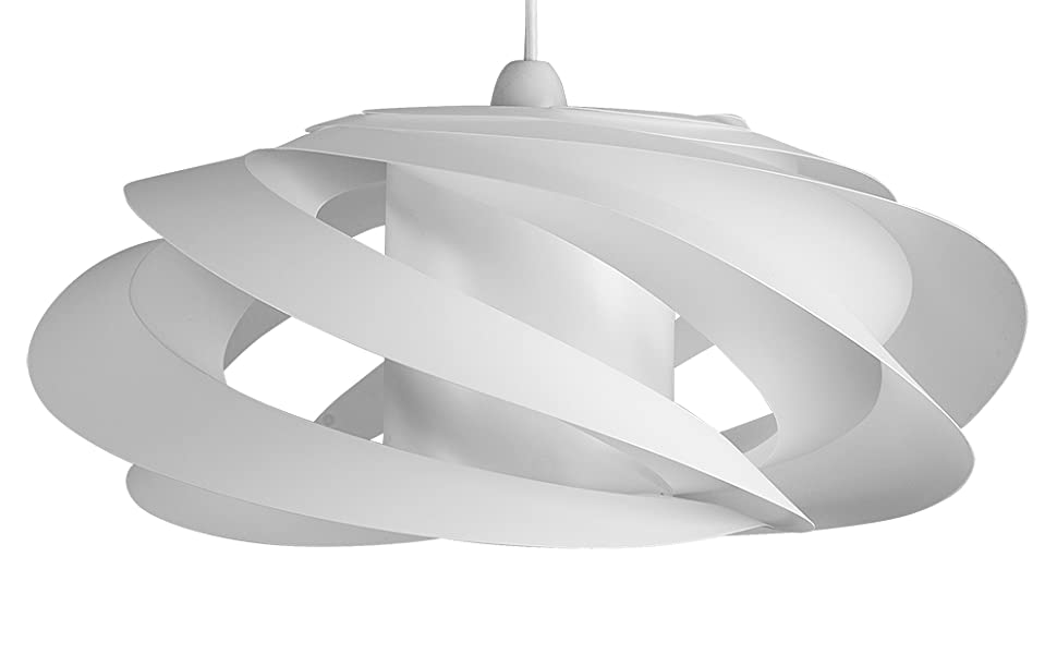 MiniSun - Moderna pantalla para lámpara de techo Komett - diseño ...