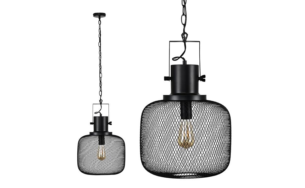 MiniSun - Lámpara de techo Halsey de estilo retro ...