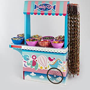 Candy Bar Sin Bandeja Vacío La Asturiana - Carrito de Mesa Dulce ...