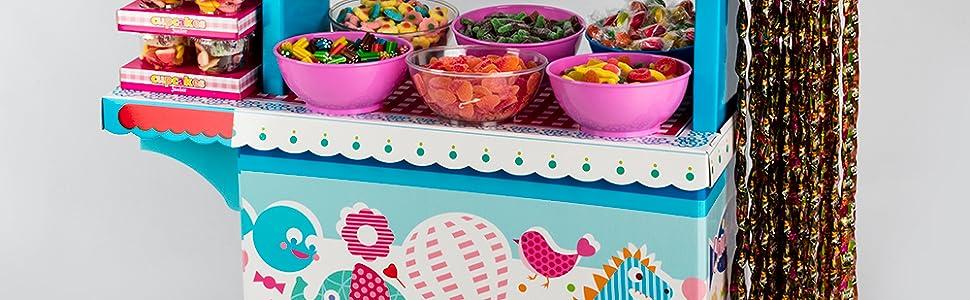 Candy Bar Sin Bandeja Vacío La Asturiana. Carrito para ...